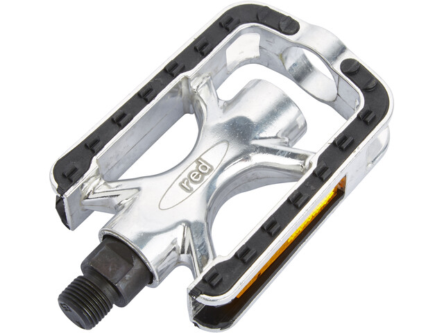 Red Cycling Products Trekking Alu Comp Pedals black/silver